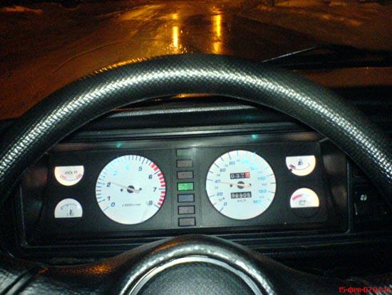 Фото №30 - приборная панель ВАЗ 2110 на ВАЗ 2107